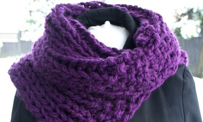 chunky cowl collar knitting pattern