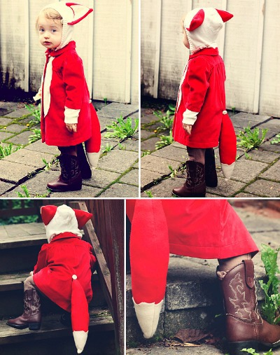 DIY Kids Halloween Costumes, DIY Fox Costume for Kids, DIY Halloween Costume Children