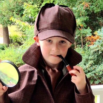 DIY Sherlock Holmes Costume, DIY Halloween Kids Costumes