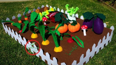 Felt Project Educational Vegetable Garden