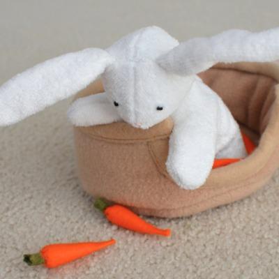 DIY bunny plushie