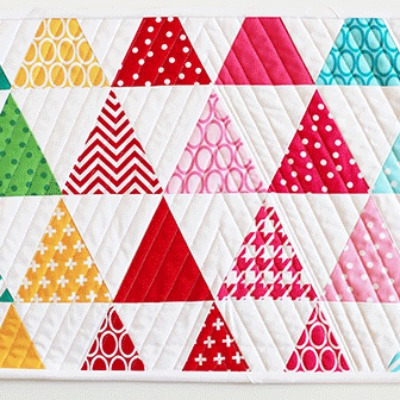 Triangle placemat