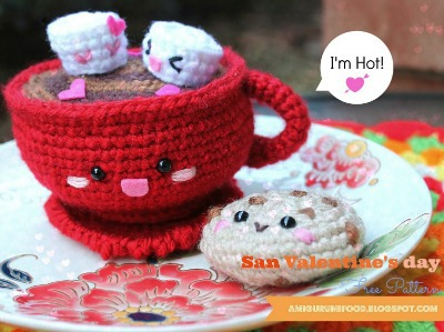 Amigurumi Patterns, Hot Chocolate Crochet Pattern