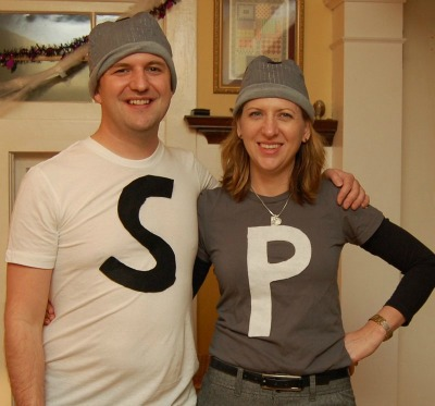 Last-Minute Salt & Pepper Shaker Costumes