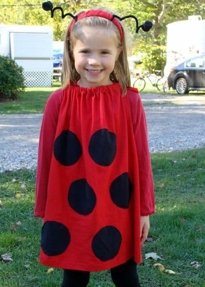 Last-Minute Ladybug Costume