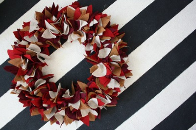 Felt Autumn Wreath