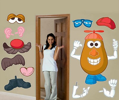 Mr. Potato Head Wall Decal