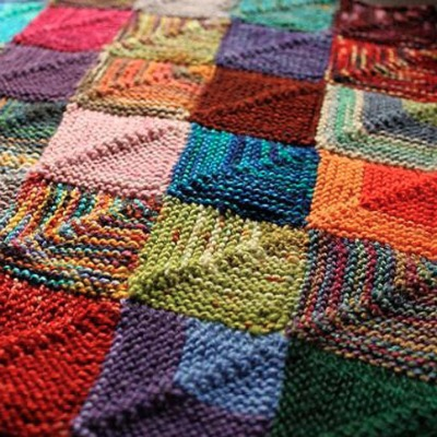 blanket square pattern