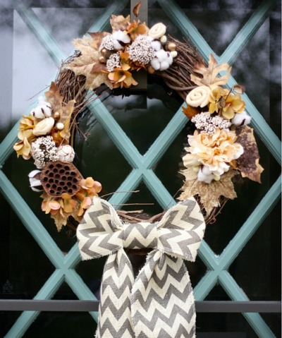 Modern Farmhouse Wreath