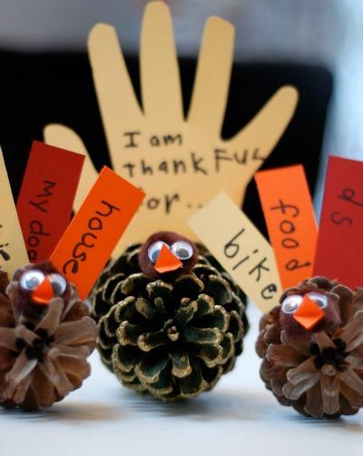 Thankful Pinecone Turkey