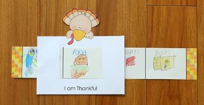 Thanksgiving Story Window