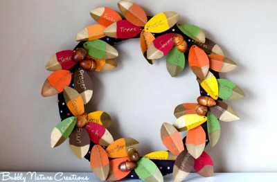 Thankfulness Wreath