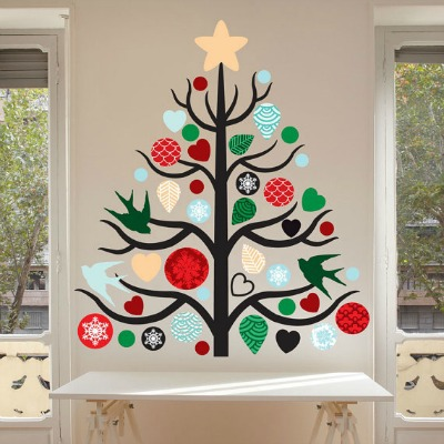 Chrsitmas Tree Wall Decal Kit
