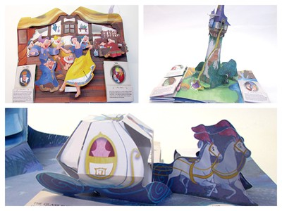 Disney princess pop-up book Matthew Reinhart