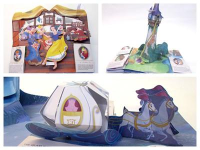 Disney princess pop-up book Matthew Reinhart