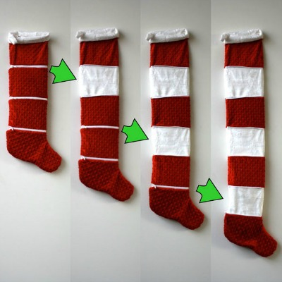 Expandable Christmas Stocking