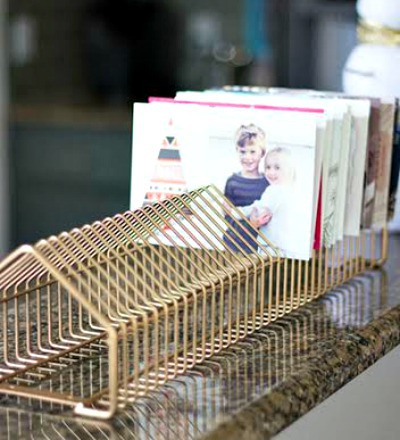 Thrifty Modern Card Rack
