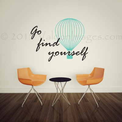 Travel Quote Wall Decal