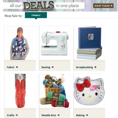 Coupons and sales at Jo-Anns and Michaels