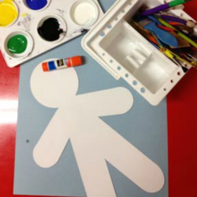 have your child paint or draw their emotions