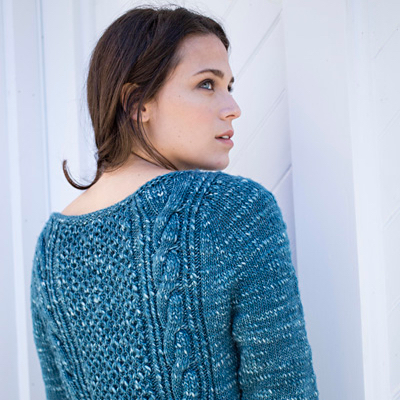 Plus Size Slouchy Striped Sweater