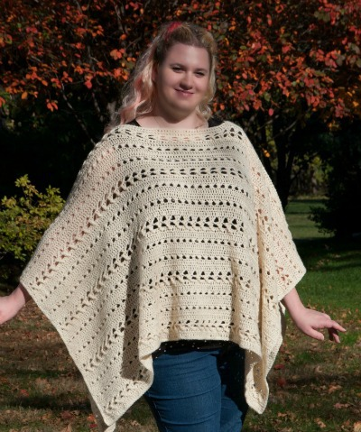 Plus Size Perfect Poncho Sweater