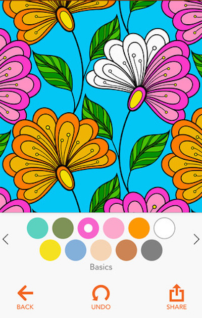 coloring app for ipad