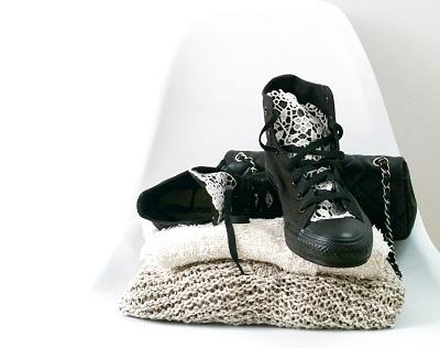 Lace Converse