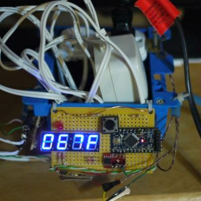 programmable arduino thermostat