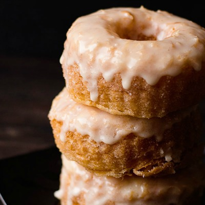 Homemade dough cronut recipe