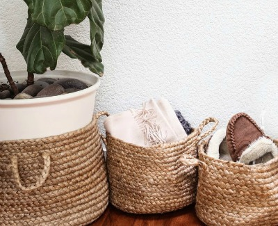 Slipper Baskets
