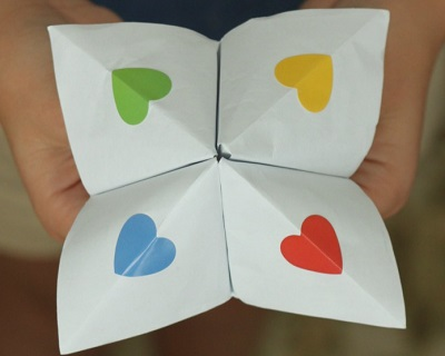 Kindness Cootie Catcher