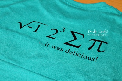 Pi Equation Shirt