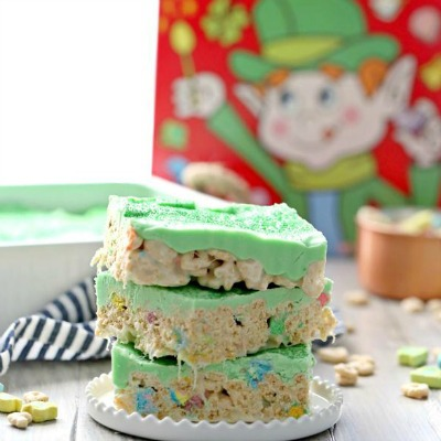 lucky charms treats st. patricks day