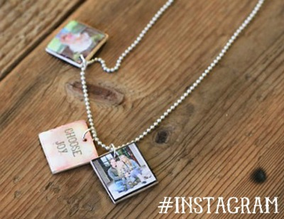 Mini Instagram Pendants