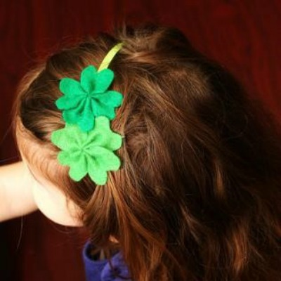 green outfits for kids on St. Patrick