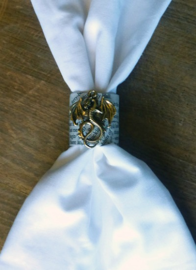 Smaug Napkin Ring