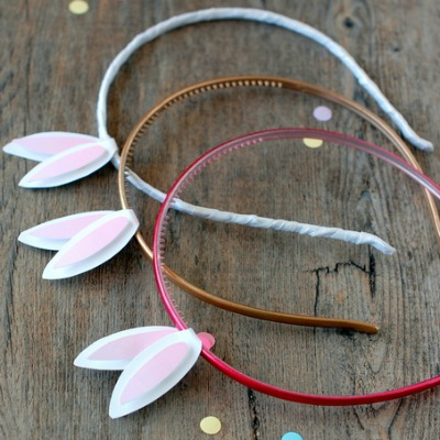 Bunny ear headbands