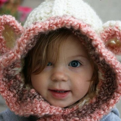 crocheted bear hat pattern