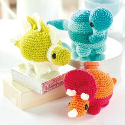 dinosaur Amigurumi patterns
