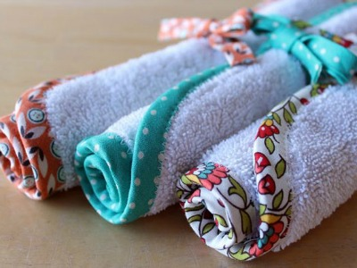 recycled, upcycled washcloths