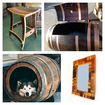 barrel home decor