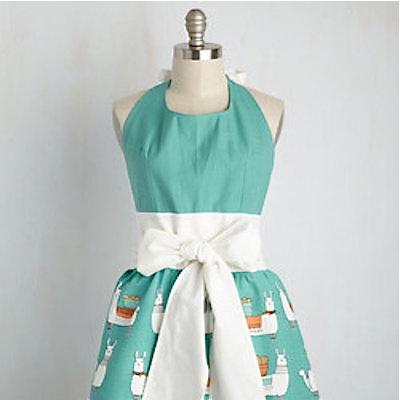 modcloth retro apron