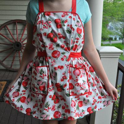 Handmade vintage apron
