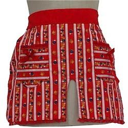 70s style retro apron