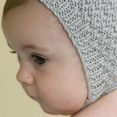 1940s, 1950s style baby bonnet pattern