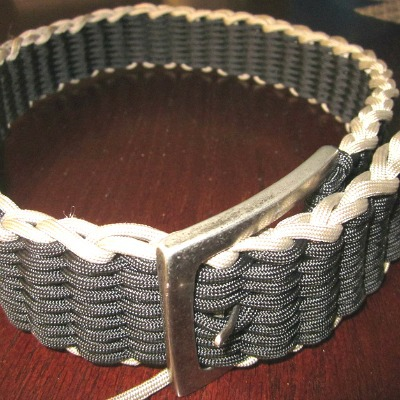 paracord belt ideas