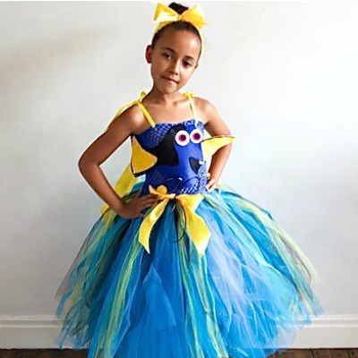 finding dory DIY costume
