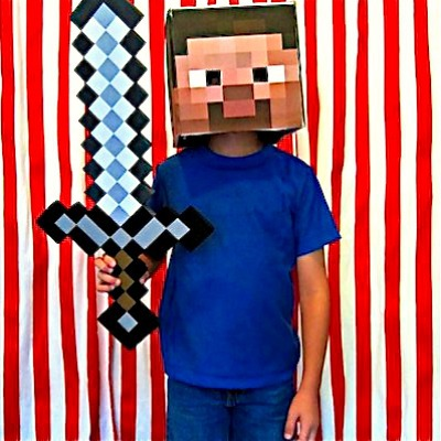Steve from Minecraft DIY costumes