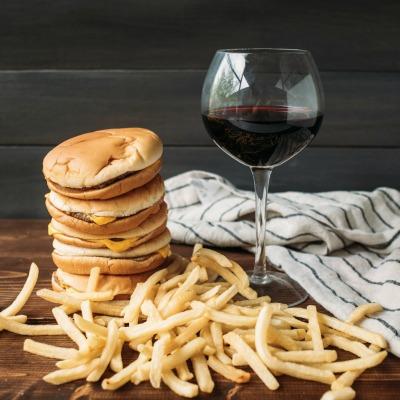 pairing burgers and wine
